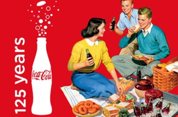 celebrating 125 years of coca cola