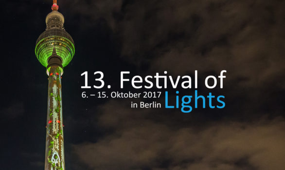 BERLIN,GERMANY, FESTIVAL OF LIGHTS